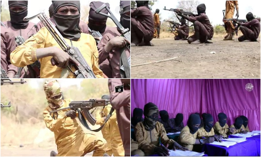 Boko Haram Releases Video Of Children Undergoing Combat Training In A Camp [Photos] 1