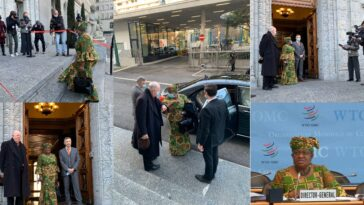 Ngozi Okonjo-Iweala Rocks Ankara On Her First Day As WTO Director-General [Photos] 2
