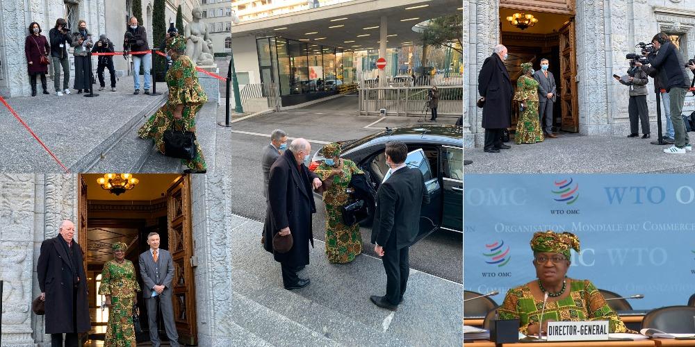 Ngozi Okonjo-Iweala Rocks Ankara On Her First Day As WTO Director-General [Photos] 1