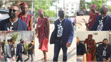 Drama As Omoyele Sowore Storms Abuja Court With A 'Native Doctor' [Photos] 9