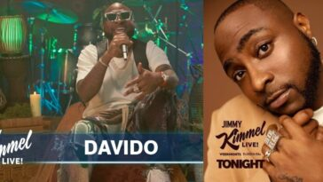 Davido Performs His Hit Singles 'Assurance' And 'Jowo' On Jimmy Kimmel Live Show [Video] 11