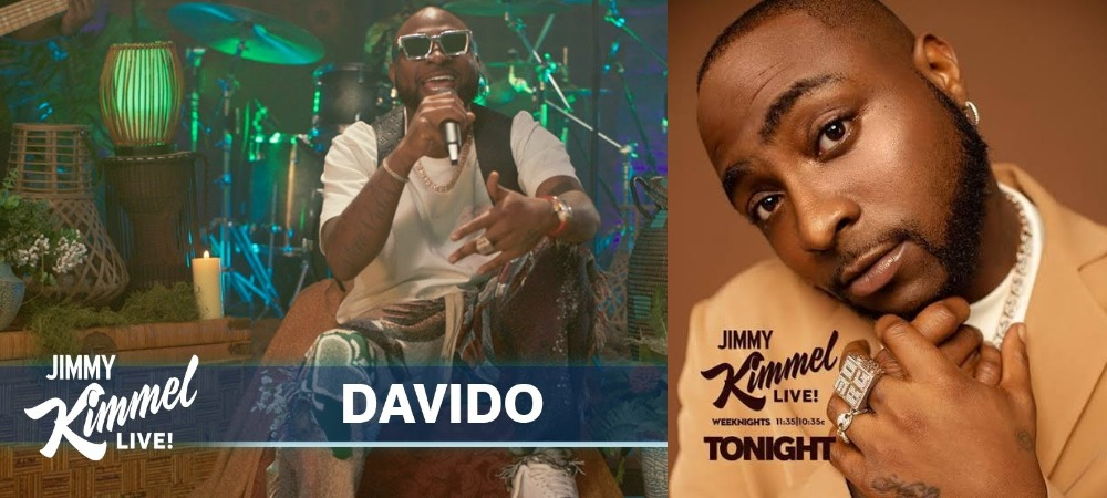Davido Performs His Hit Singles 'Assurance' And 'Jowo' On Jimmy Kimmel Live Show [Video] 1