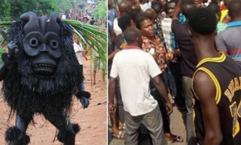 Kogi Youths Beats Pastor To Coma For Refusing To Allow Masquerade Inside church 1