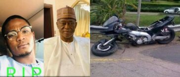 Katsina Business Mogul, Dahiru Mangal Loses His Son In Ghastly Power Bike Accident 25