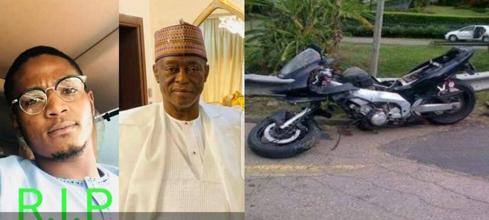 Katsina Business Mogul, Dahiru Mangal Loses His Son In Ghastly Power Bike Accident 1