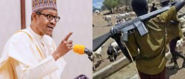 President Buhari Directs Security Agents To Shoot Anyone Seen With Guns Like AK-47 28