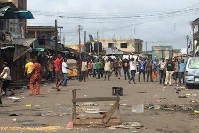Two Persons Dies As Fulani And Yoruba Engages In Bloody Fight In Oyo Market 1