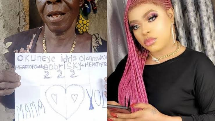 Bobrisky Promises To Get New Apartment For Old Woman Who Declared Love For Him 1