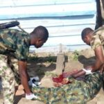Newly Recruited Nigerian Soldier Commits Suicide During Conversation With His Colleagues 29