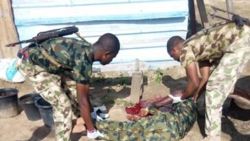 Newly Recruited Nigerian Soldier Commits Suicide During Conversation With His Colleagues 10