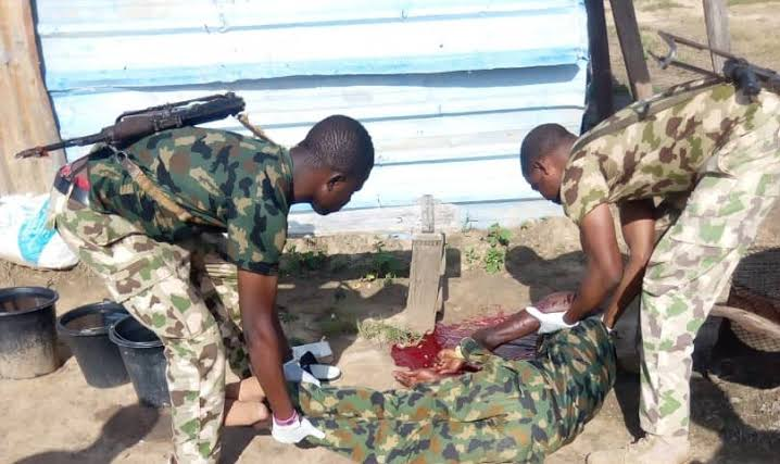 Newly Recruited Nigerian Soldier Commits Suicide During Conversation With His Colleagues 1