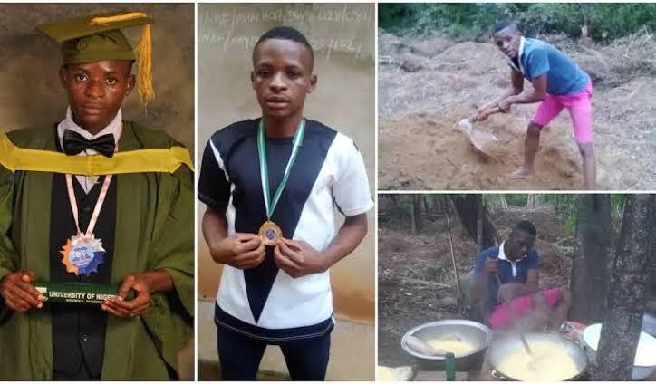 First-Class UNN Graduate Turned Farmer, Emmanuel Nworie Gets PhD Scholarship In US 1