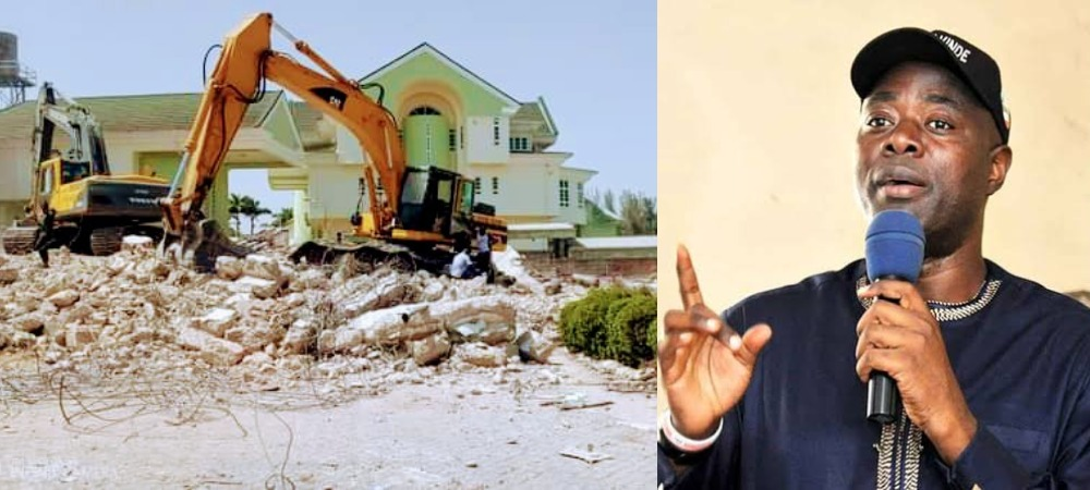Governor Seyi Makinde Orders Demolition Of Oyo Government House In Abuja [Photos] 1