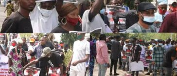 Northern Youths Storms Streets Of Abuja To Demand Buhari's Resignation [Photos/Video] 24
