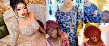 Bobrisky Finally Meets Elderly Fan And Her Grandson, Vows To Lift Them From Poverty [Video] 26