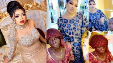 Bobrisky Finally Meets Elderly Fan And Her Grandson, Vows To Lift Them From Poverty [Video] 9