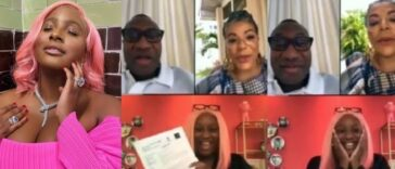 Watch DJ Cuppy Announce To Her Parents That She Got Admission Into Oxford University [Video] 23