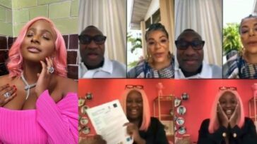 Watch DJ Cuppy Announce To Her Parents That She Got Admission Into Oxford University [Video] 11