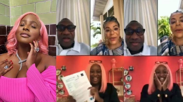 Watch DJ Cuppy Announce To Her Parents That She Got Admission Into Oxford University [Video] 1