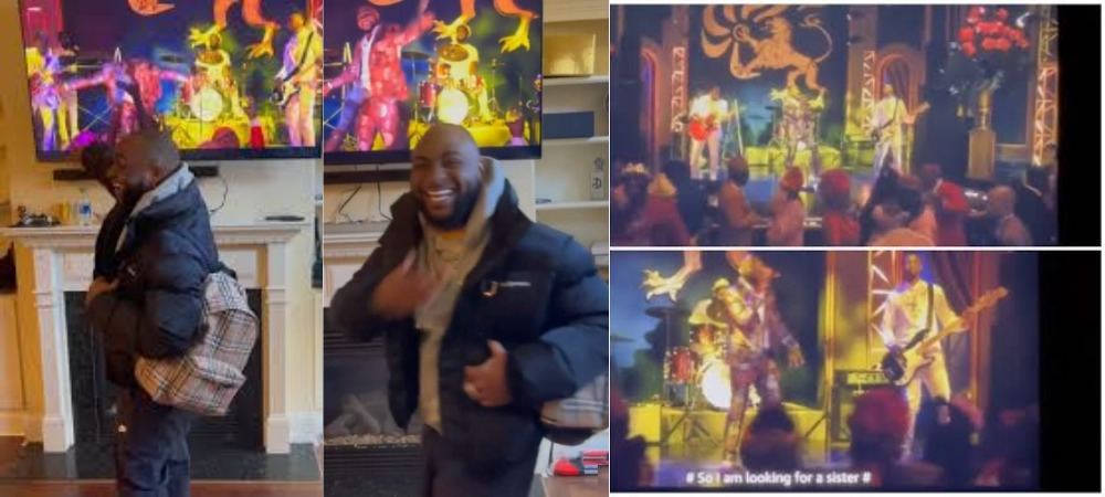Davido Reacts After Watching His Performance In 'Coming To America 2' Movie [Video] 1