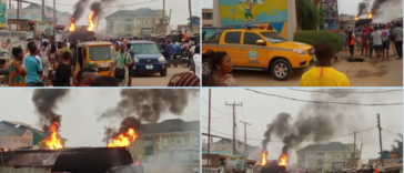 Fire Engulfs NNPC Petrol Station In Alagbole Area Of Ogun State [Video] 26