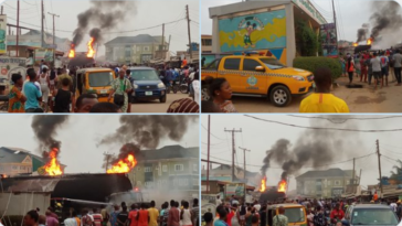 Fire Engulfs NNPC Petrol Station In Alagbole Area Of Ogun State [Video] 5