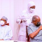 President Buhari And VP Osinbajo Receives AstraZeneca COVID-19 Vaccine Shots [Photos] 9