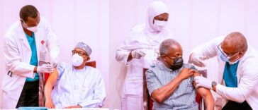 President Buhari And VP Osinbajo Receives AstraZeneca COVID-19 Vaccine Shots [Photos] 25