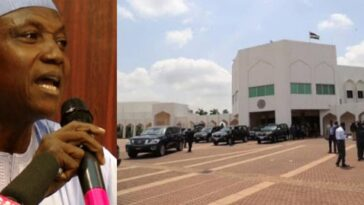 Presidency Speaks On Fire Outbreak Inside Aso Rock, Says No Loss Of Life Was Recorded 12
