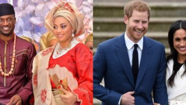 Nigerians Compare Peter Okoye To Prince Harry Who's Standing Up For His Wife, Meghan Markle 5