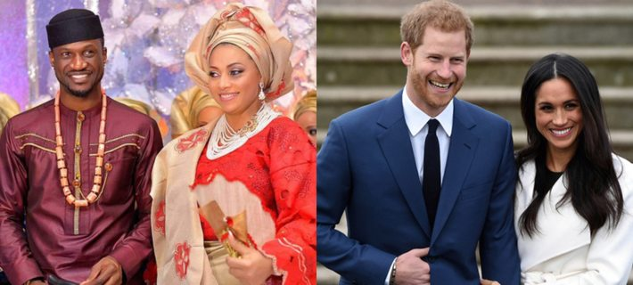 Nigerians Compare Peter Okoye To Prince Harry Who's Standing Up For His Wife, Meghan Markle 1