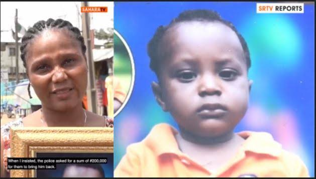 Woman Accuses Police Of Demanding N200K After Releasing Her Missing Child To Impostor 1