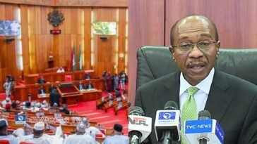 CBN Governor, Godwin Emefiele To Appear Before Senate Over Missing $9.5million PPT Fund 10