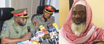 Nigerian Army Slams Sheikh Gumi For Saying 'Christian Soldiers Behind Attacks On Bandits' 25