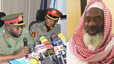 Nigerian Army Slams Sheikh Gumi For Saying 'Christian Soldiers Behind Attacks On Bandits' 3