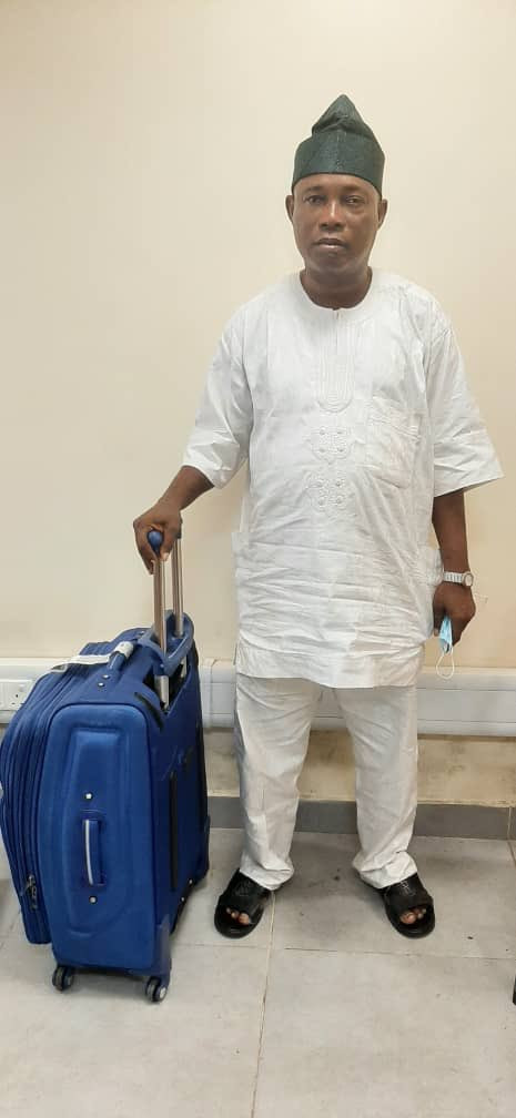 NDLEA Arrests Notorious Drug Trafficker With Three Parcels Of Cocaine At Lagos Airport 2