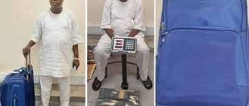 NDLEA Arrests Notorious Drug Trafficker With Three Parcels Of Cocaine At Lagos Airport 25