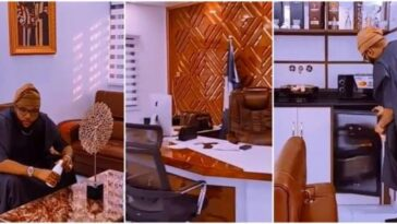 E-Money Goes Spiritual As He Shows Off His Multi-Million Naira Office Interior [Video] 5