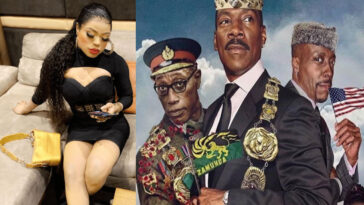 Bobrisky Claims He Rented Entire Cinema Just To Watch 'Coming To America 2' 4