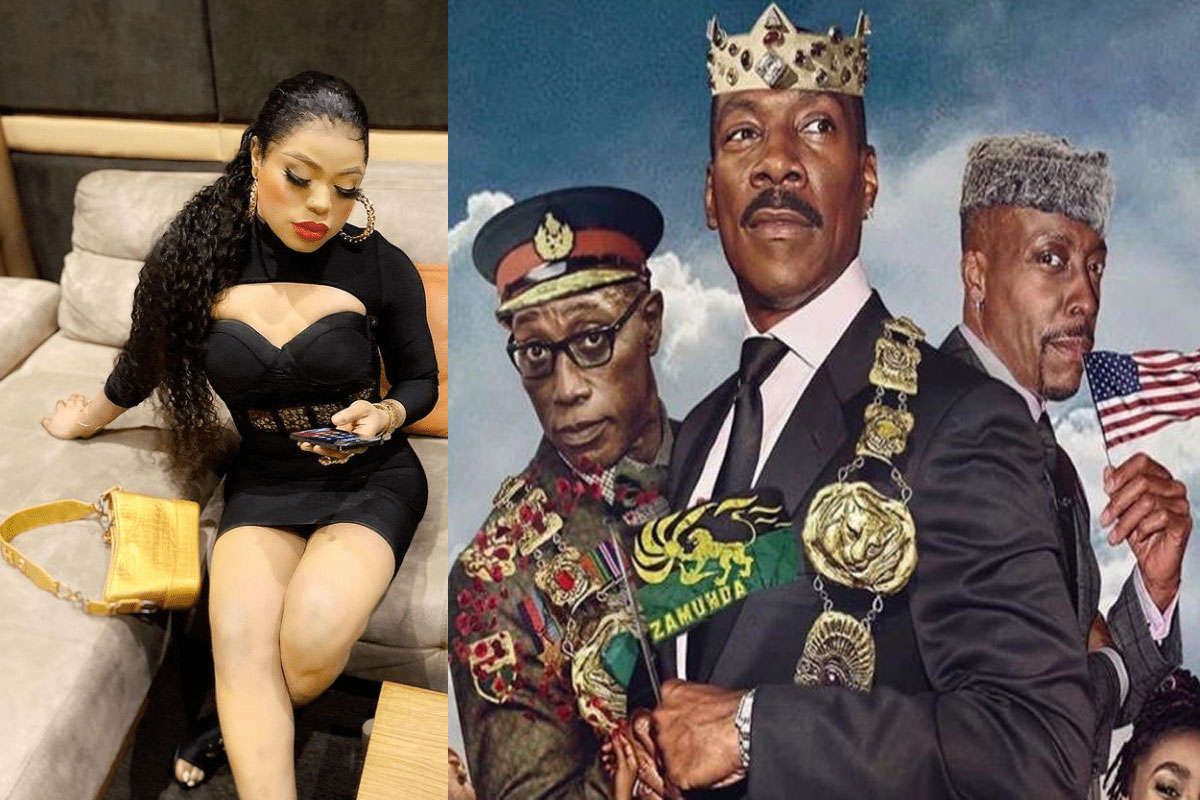 Bobrisky Claims He Rented Entire Cinema Just To Watch 'Coming To America 2' 1