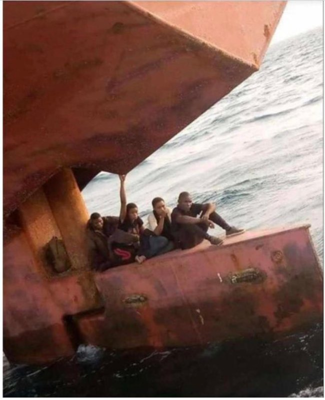 Lagos Anchorage Officials Catches Stowaways Hiding Beneath A Ship Heading For Spain [Video] 3