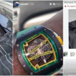 Nigerian Big Boy, Mompha Show Off His Richard Millie Wristwatch Worth N118 Million [Video] 28
