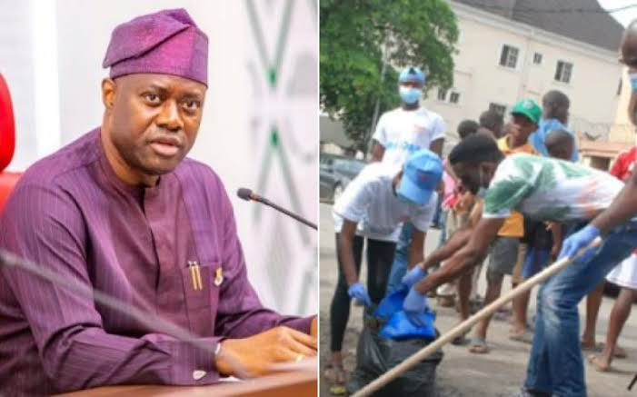 Governor Seyi Makinde Suspends Monthly Sanitation Exercise Indefinitely In Oyo 1
