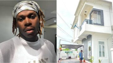 """Beyond Blessed"" - Fireboy Says As He Shows Off His New Multi-Million Naira Mansion 4"