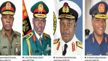 Billions Approved To Purchase Weapons 'Missing' Under Buratai, Ex-Service Chiefs — NSA 3