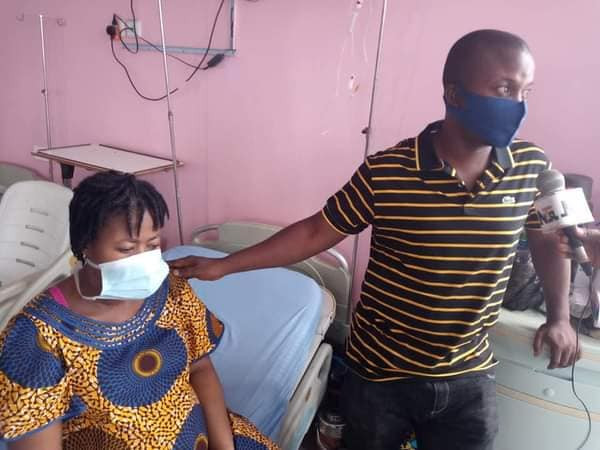 Nigerian Woman, Samuel Regina Gives Birth To Triplets After 11 Years Of Marriage [Photos] 7