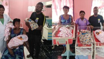 Nigerian Woman, Samuel Regina Gives Birth To Triplets After 11 Years Of Marriage [Photos] 13