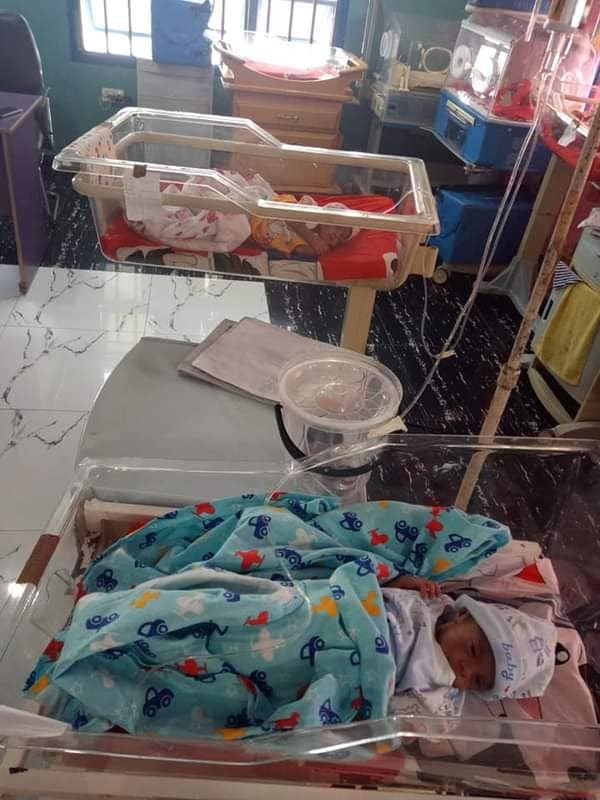 Nigerian Woman, Samuel Regina Gives Birth To Triplets After 11 Years Of Marriage [Photos] 5