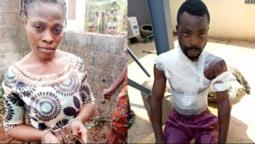 Woman Kills Her Own Child, Bathes Husband With Hot Water Over Alleged Drunkness 7