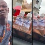 Lagos Pastor Seen Selling 'Holy Water' That Could Make People 'Rich And Successful' [Video] 7